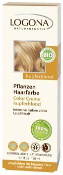 LOGONA Color Creme barva na vlasy - krémová