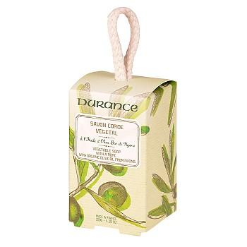 DURANCE Mýdlo na šňůře s bio olivovým olejem 150g