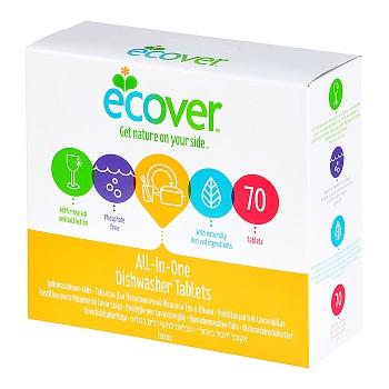 ECOVER Tablety do myčky 70 ks - All in one